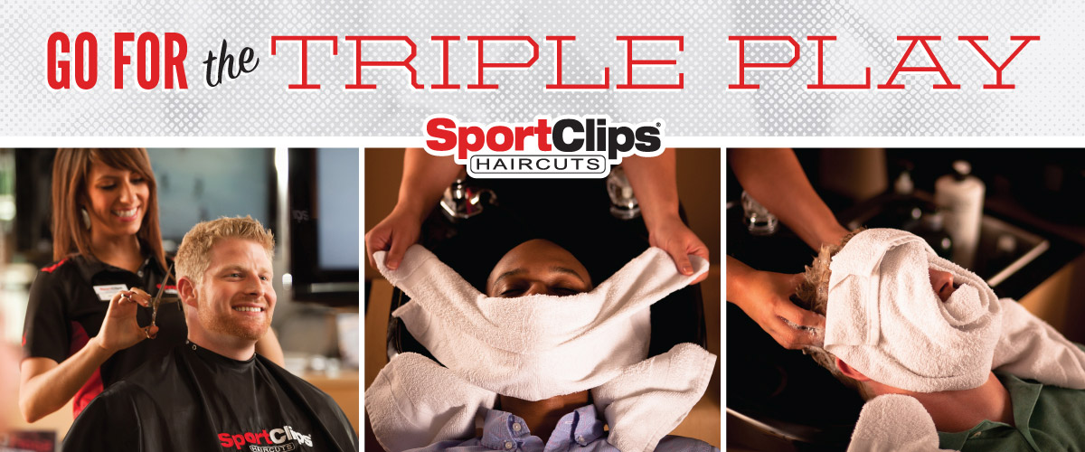 The Sport Clips Haircuts of Sam's Club Center Triple Play